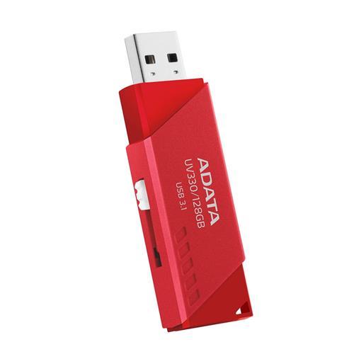 USB Kľúč 32GB ADATA UV330 USB 3.0 red AUV330-32G-RRD