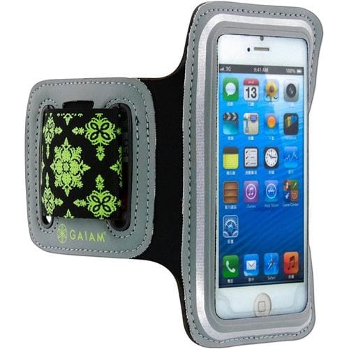 GAIAM Sport Armband Green - small phone 07309