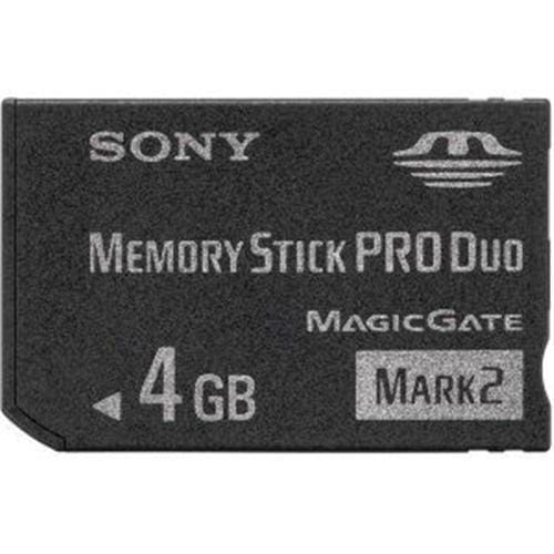 Sony 4GB Memory Stick Pro DUO MSMT4G