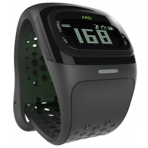 Športové hodinky mio Alpha 2, čierne MI-58P-BLK