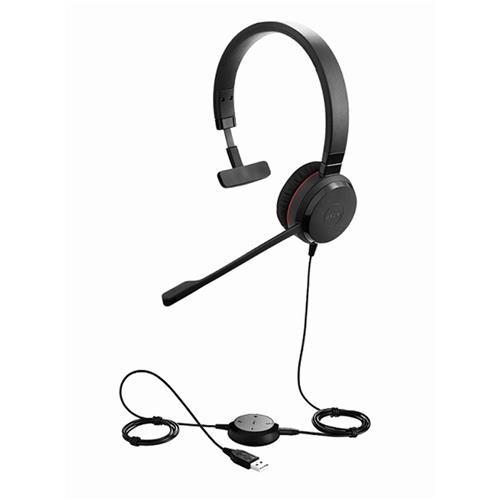 Headset Jabra Evolve 30 II, mono, USB/Jack, MS 5393-823-309