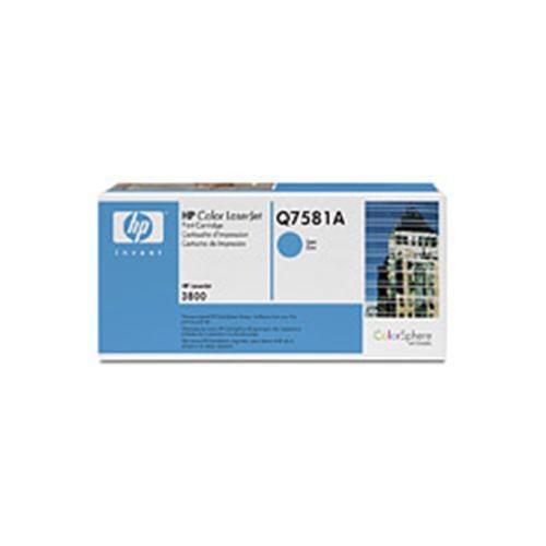 Toner HP Q7581A CLJ3800 Cyan, 6,0 00 strán