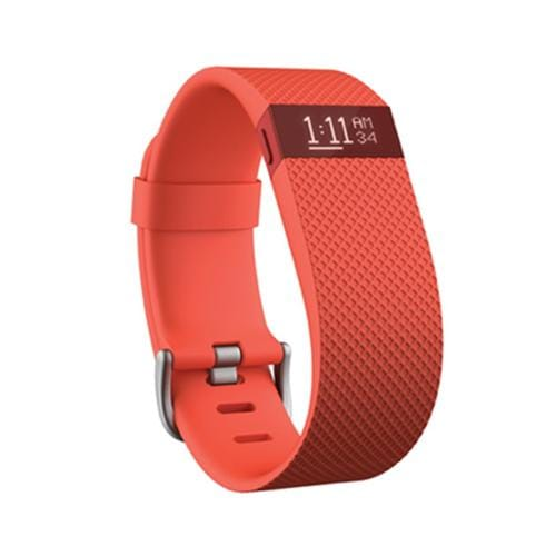 Fitbit Charge HR, Large - Tangerine