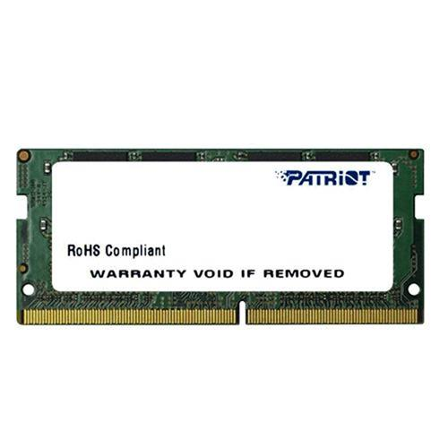SO-DIMM 8GB DDR4-2400MHz Patriot CL17 PSD48G240081S