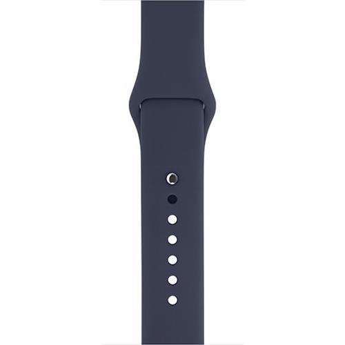 Apple 42mm Midnight Blue Sport Band - S/M & M/L mll02zm/a