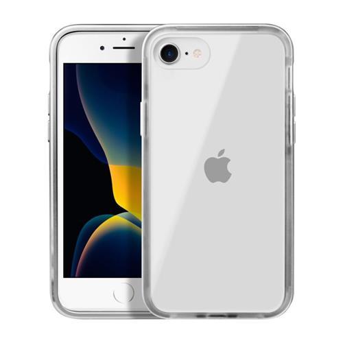 LAUT Exoframe – Case for iPhone SE 2020, 8 / 7, Silver LAUT-IPSE2-EX-SL