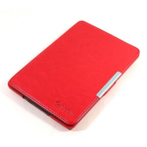 C-TECH puzdro Kindle Paperwhite hardcover, červené AKC-05R