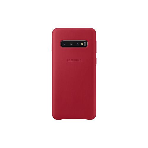 Samsung Leather Cover S10 Red EF-VG973LREGWW