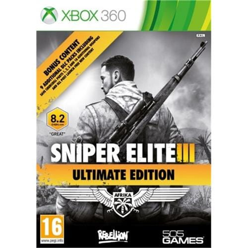 XBOX 360 hra - Sniper Elite 3 Ultimate Edition