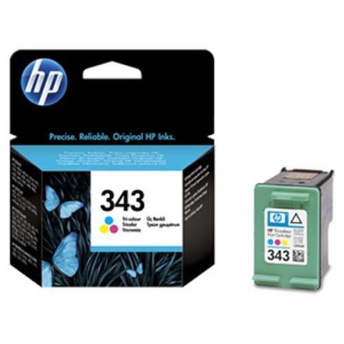 Kazeta HP HPC8766EE TRI-COLOR No. 343