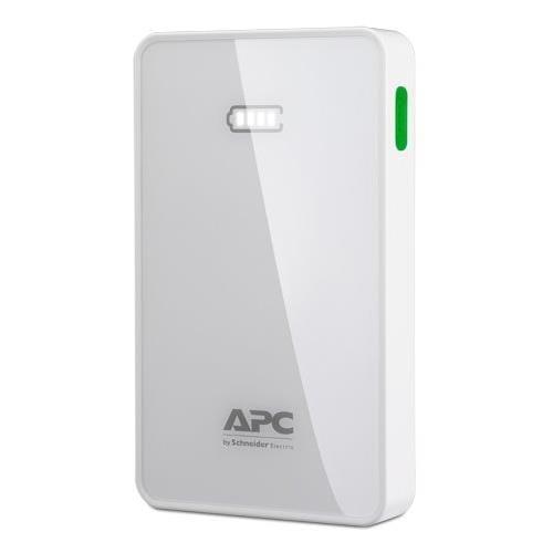 APC Mobile Power Pack, 5000mAh Li-polymer, White ( EMEA/CIS/MEA) M5WH-EC