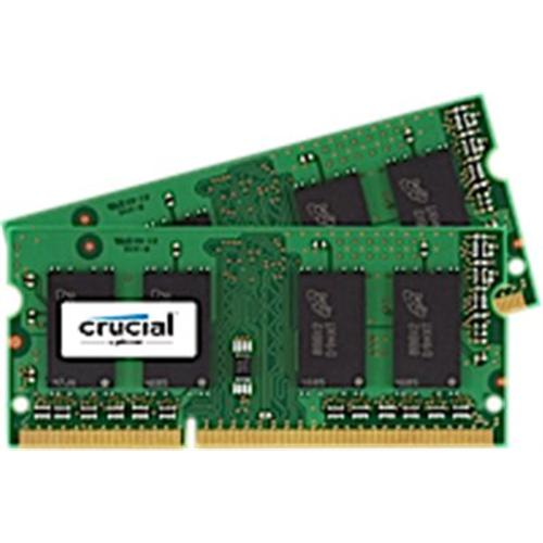 SO-DIMM kit 8GB DDR3L - 1866 MHz Crucial CL13 SR 1.35V/1.5V, 2x4GB CT2K51264BF186DJ