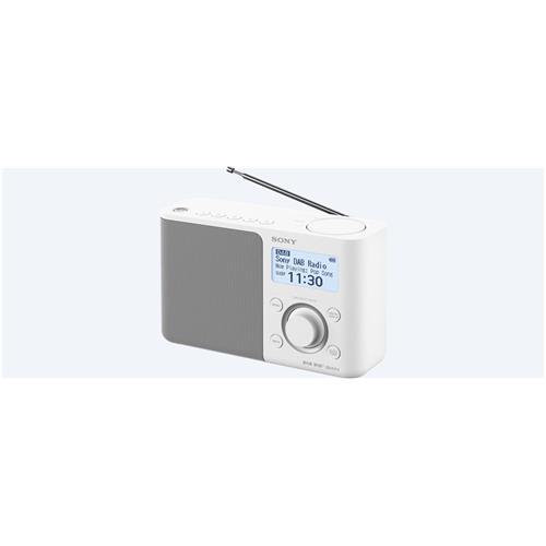Sony rádio XDRS61DW.EU8 prenosné, biele