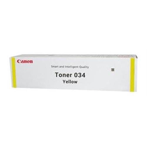 Toner CANON 034 Yellow iR C1225, iC MF810/820