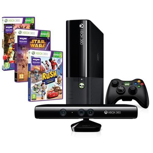 XBOX 360® Kinect Bundle 4GB Stingray + 3 x hra