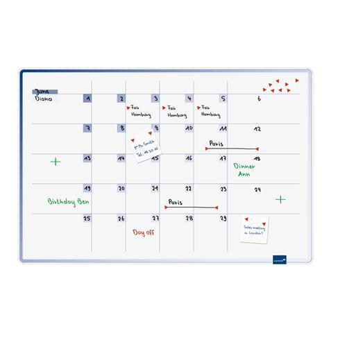 Plánovacia tabuľa mesačná ACCENTS 60x90 cm LM489500