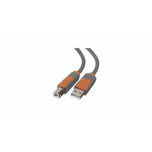 Kábel BELKIN USB 2.0 A-B, premium, 5 m CU1000R5M
