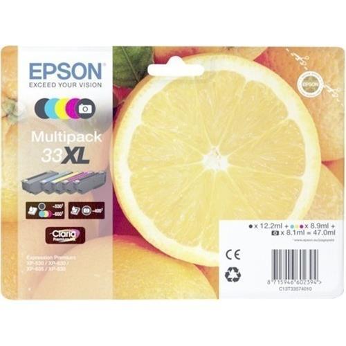 kazeta EPSON XP-530,XP-630,XP-635,XP-830 33XL Multipack C13T335740