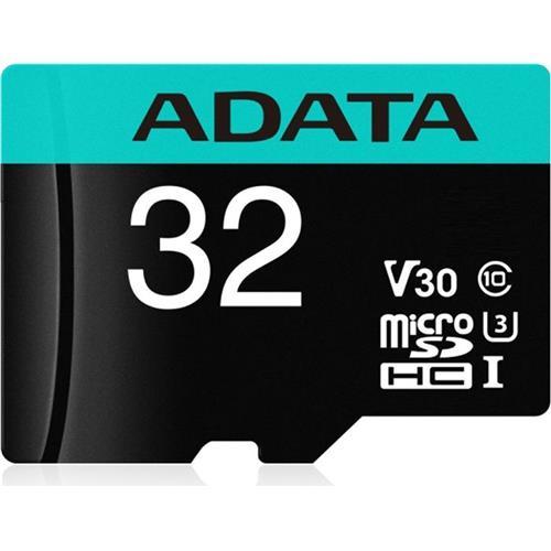 ADATA MicroSDHC 32GB U3 V30G 95/90MB/s + adaptér AUSDH32GUI3V30SA2-RA1