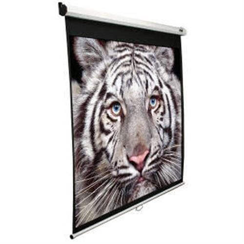 "ELITE SCREENS plátno roleta 113"" (287 cm)/ 1:1/ 203,2 x 203,2 cm/ Gain 1,1/ case biely M113NWS1"