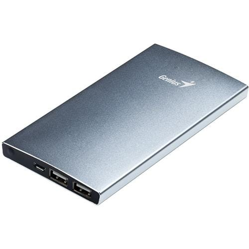 GENIUS power bank ECO-u828, 8 000 mAh, silver 39800010102