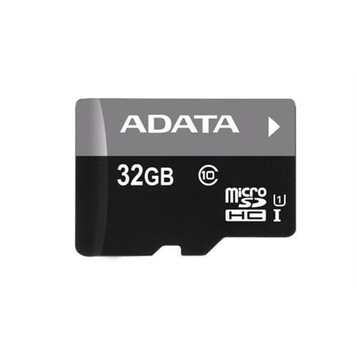 ADATA 32GB microSDHC UHS-I Premier, Class 10 + adaptér AUSDH32GUICL10-RA1