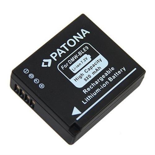 PATONA Aku Panasonic DMW-BLE9 820mAh PT1112