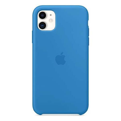Apple iPhone 11 Silicone Case - Surf Blue MXYY2ZM/A