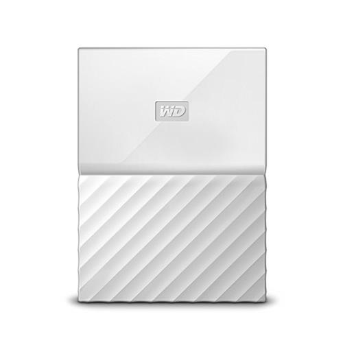 Ext. HDD WD My Passport 2TB, 2,5'', USB 3.0, biely WDBS4B0020BWT-WESN