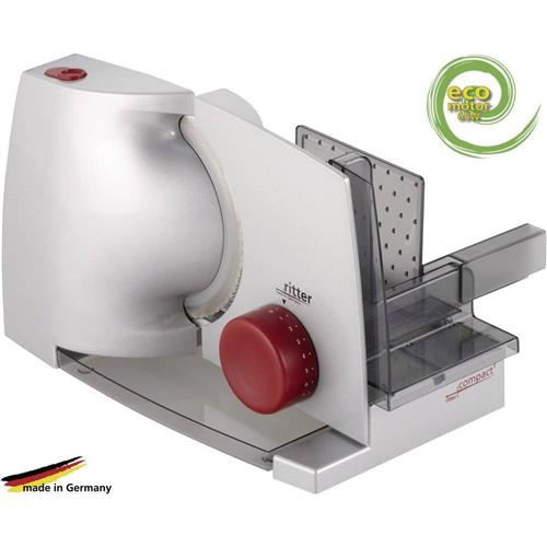 Krájač potravín Ritterwerk Compact 1, 518.000, 65 W, strieborná/šedá 404876