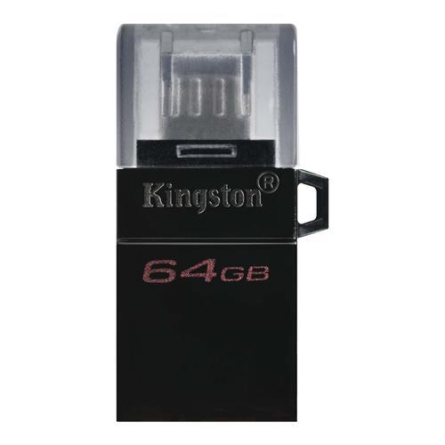 USB Kľúč 64GB Kingston DataTraveler MicroDuo 3 Gen2, OTG, USB-C, USB 3.1 (r80MB/s) DTDUO3G2/64GB