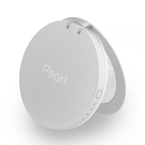 Hyper Pearl make-up mirror & powerbank - strieborná HY-PL3000-SILVER