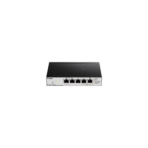 D-Link DGS-1100-05PD PoE powered GE Smart switch
