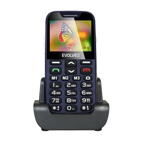 EVOLVEO EasyPhone XD, telefón pre seniorov, modrý EP-600-XDL