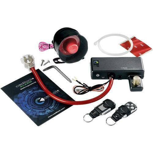 Alarm do auta Cadillock Alarm, vč. diaľkového ovládania, senzor vibrácí, 12 V 1428906