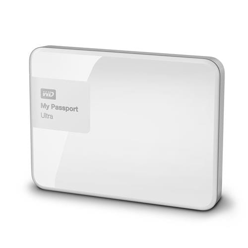 Ext. HDD 2.5'' WD My Passport Ultra 1TB, USB, biely