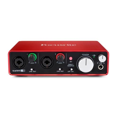 Focusrite Scarlett 2i2, 2nd gen