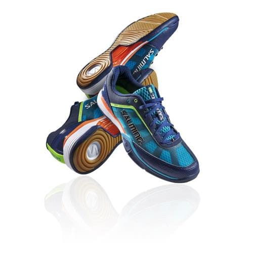 SALMING Viper 2.0 Men Navy/Cyan 11 UK, 46 2/3 EUR