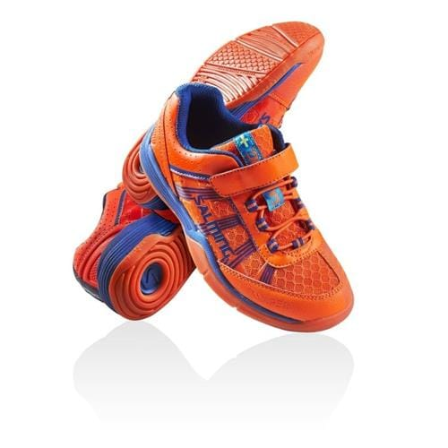 SALMING Viper Kid Velcro Orange 13 UK, 31 1/3 EUR
