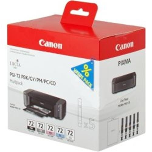 Kazeta CANON PGI-72 PBK/GY/PM/PC/CO PACK PIXMA Pro 10