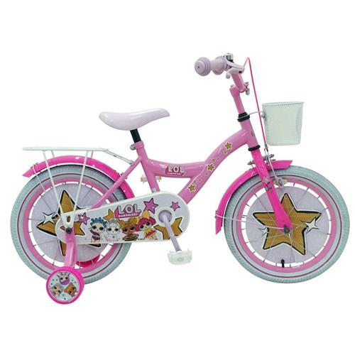"""VOLARE - Detský bicykel pre dievčatá, LOL Surprise ,,16"""" - ružový 8715347816352"""