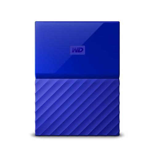Ext. HDD WD My Passport 2TB, 2,5'', USB 3.0, modrý WDBS4B0020BBL-WESN