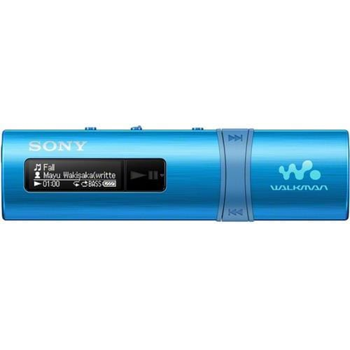 MP3 prehrávač SONY NWZ-B183, USB, FM rádio, 4GB, Blue NWZB183FL.CEW