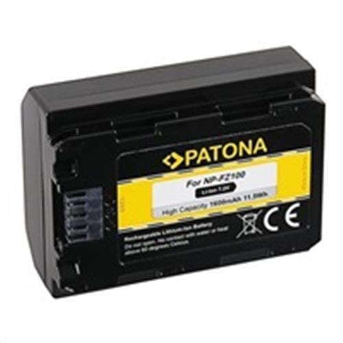 PATONA batéria pre foto Sony NP-FZ100 1600mAh Li-Ion PT1285