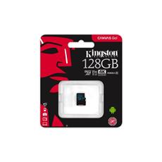 Kingston 128GB microSDXC Canvas GO (90R/45W U3 UHS-I V30 Card, bez SD Adaptéra)