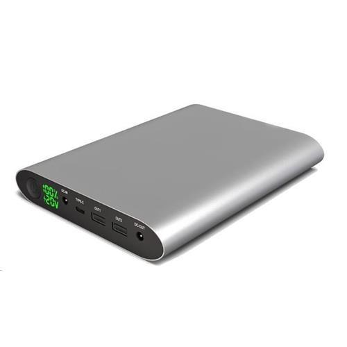 VIKING Notebook powerbank Smartech QC3.0 II 40000mAh, Šedá VSMTII40G