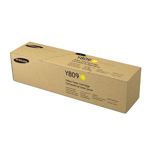 SAMSUNG CLT-Y809S Yellow Toner Cartridge SS742A