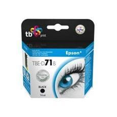 Alternatívna kazeta TB kompat. s EPSON T0711 Black