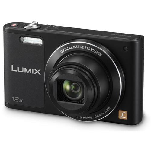Fotoaparát Panasonic DMC-SZ10EP-K, 16Mpx, 12x zoom 24mm, OIS, HD, WiFi, čierny