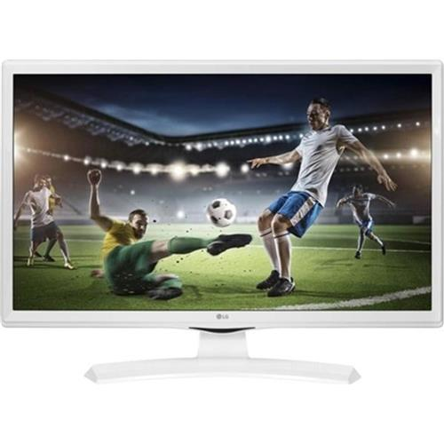 TV 24'' LG LED 24TK410V - HD ready, DVB-T2, HDMI, biela 24TK410V-WZ.AEU